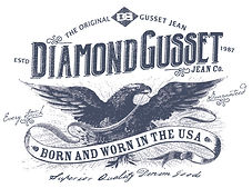 diamond gusset