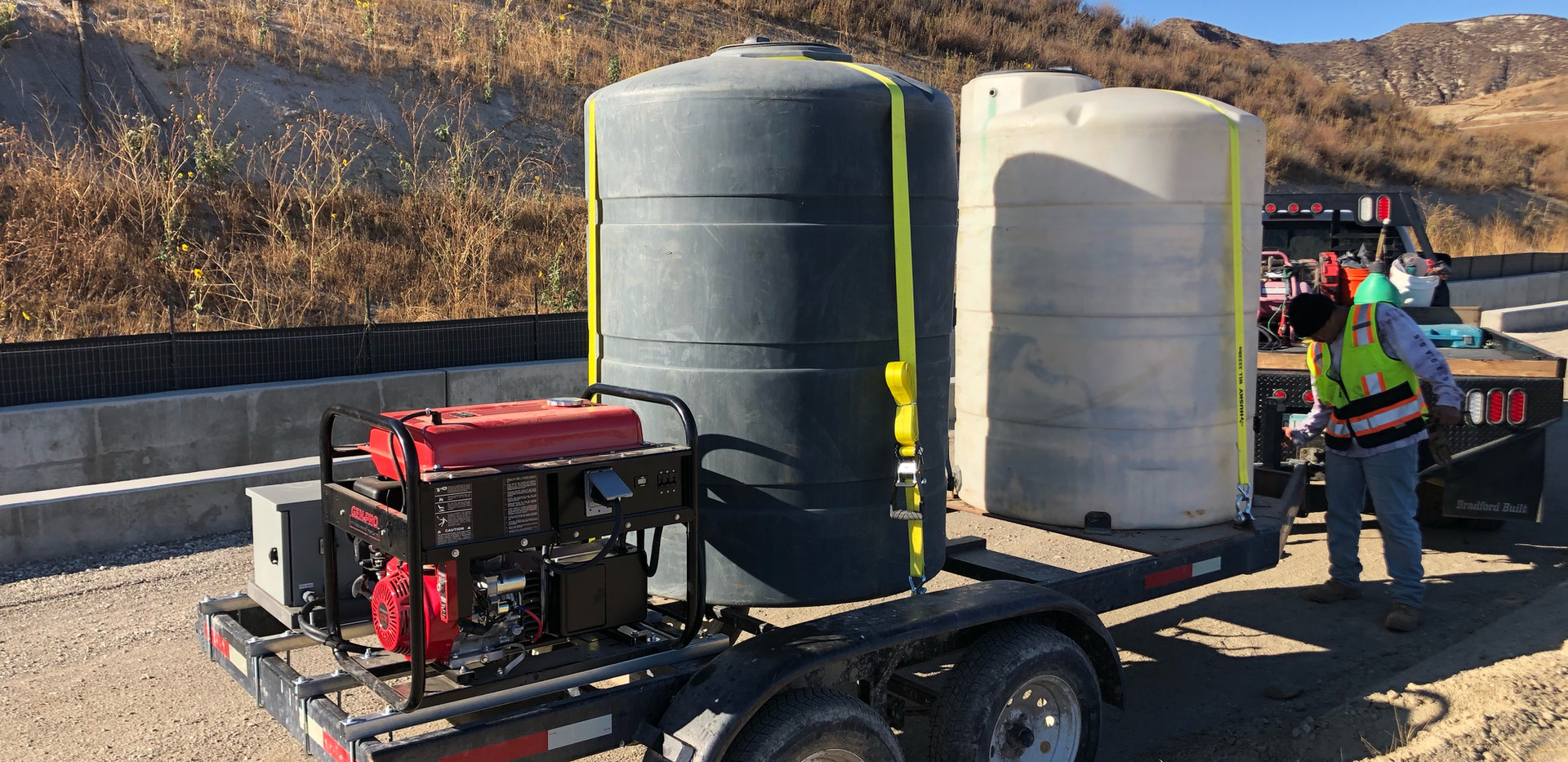 Small Misting Trailer