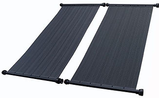 Solar Pool Heating panels Image for webs