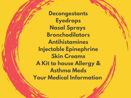 What's In Your Allergy/Asthma Rescue Kit?