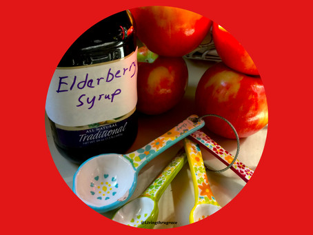 Elderberry Syrup & Manuka Honey for Cold & Flu Season Healing