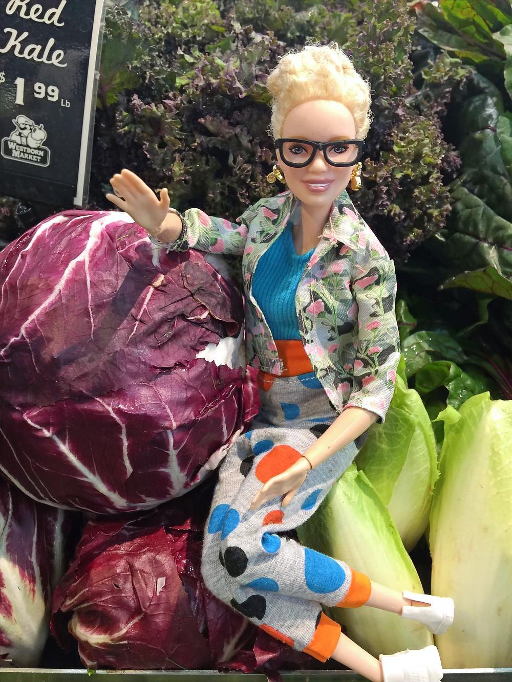 Rhoda's cabbage chill!