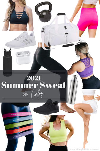 Summer Sweat in Color