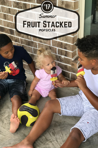 Kidz Fruit Stacked Popsicle's