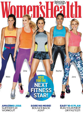 Women's Health Magazine | The Next Fitness Star