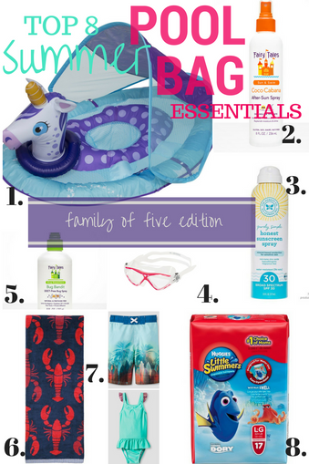 Top 8 Summer Pool Bag Essentials
