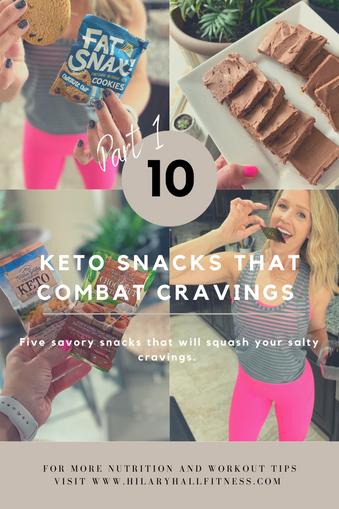 10 Keto Snacks That Combat Cravings - Part 1