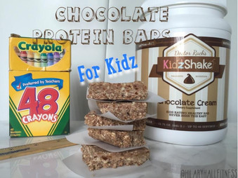 Chocolate Protein Bars for KIDZ