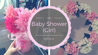 Baby (Girl) Shower DIY