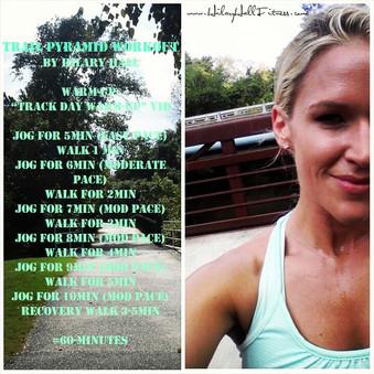 Trail Run Workout + Warm-Up