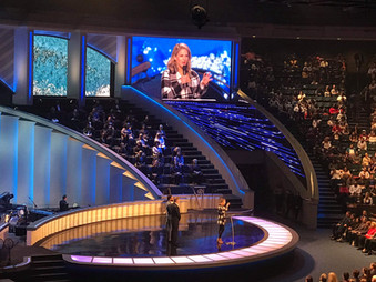 Guest Speaking at Lakewood Church