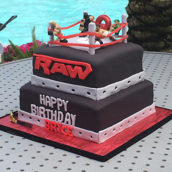 WWE Themed Birthday for 9-Year Old