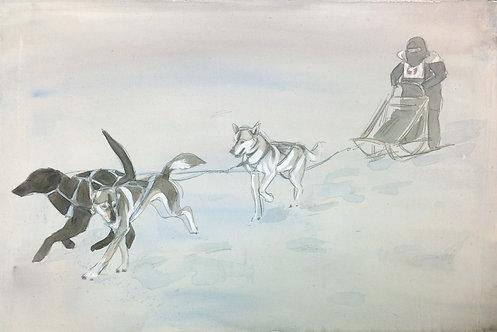 Watercolor painting - Long Term