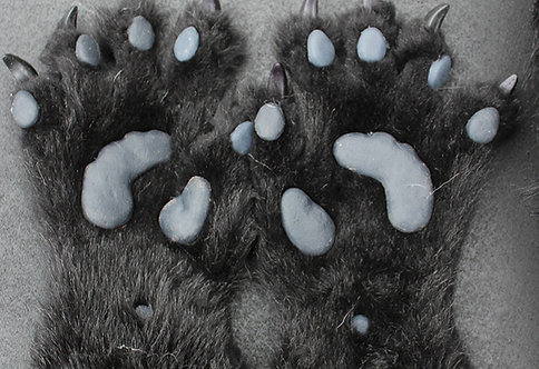 Realistic Silicone Anthro Pawpads for Fursuit Hands