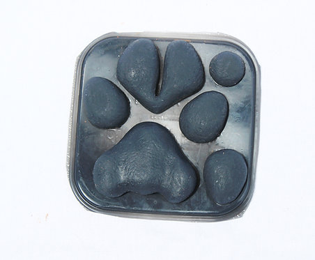 Realistic Silicone Cloven Canine Pawpads for Fursuit Hands