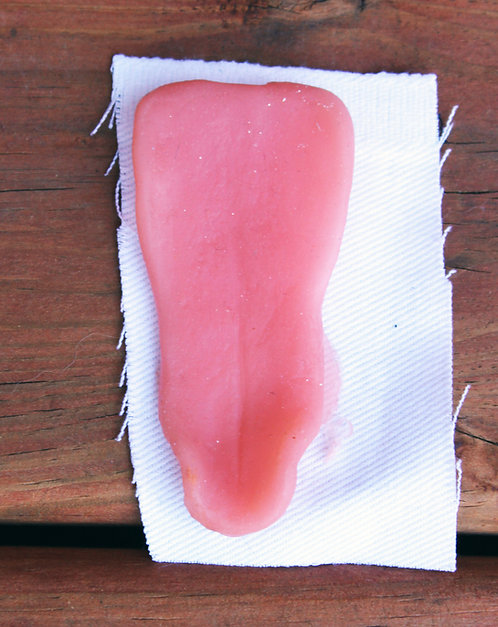 Realistic Silicone Small Canine Tongue for Fursuit Heads