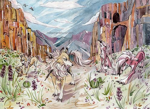 Poni Canyon print