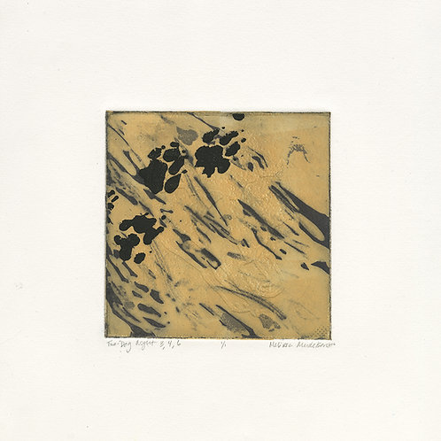 Two-Dog Night 3, 4, 6 - intaglio