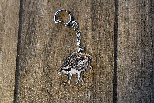 Osprey Sparkle Keychain Charm