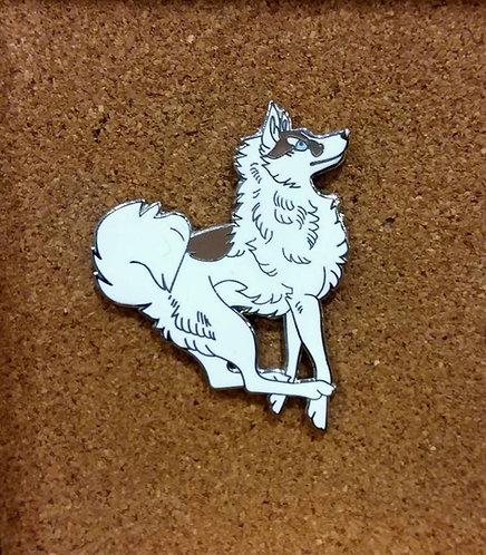Siberian Husky enamel pin