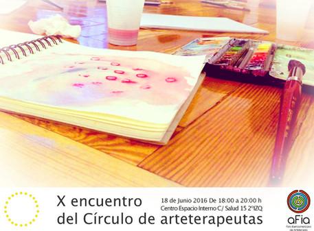 X Encuntro del Círculo de Arteterapeutas