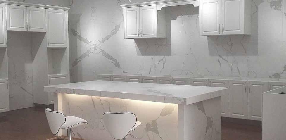 Verona quartz Calacatta Blanco