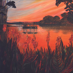 Sinu River Sunset