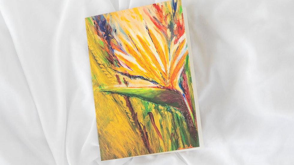 Greeting Card - Bird in Paradise 3