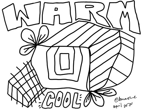 Digital Coloring Pages - Set 1