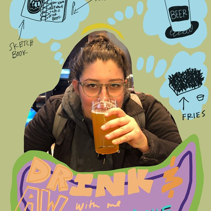 Drink & Draw at Townline BBQ