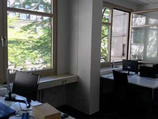 Auf Wachstumskurs im neuen Büro