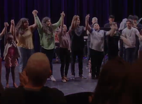 Youth theater program promotes health