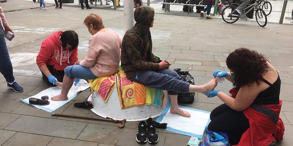 Homeless Hope Foot Health