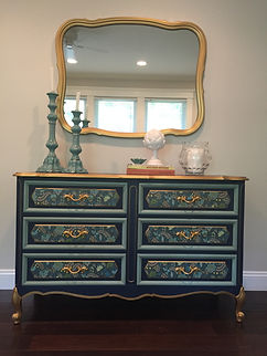 Chalk Paint® Decoupage, Image Transfers, Color Layering, Two Tone, Three Tone, Color Wash, Dry Brushing