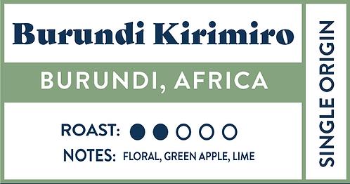 Burundi Kirimiro