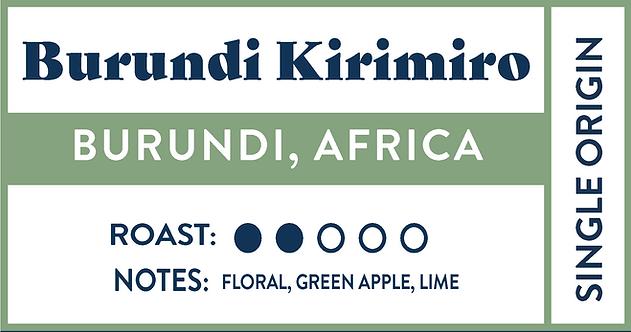 Burundi Kirimiro | Bulk • 7lb