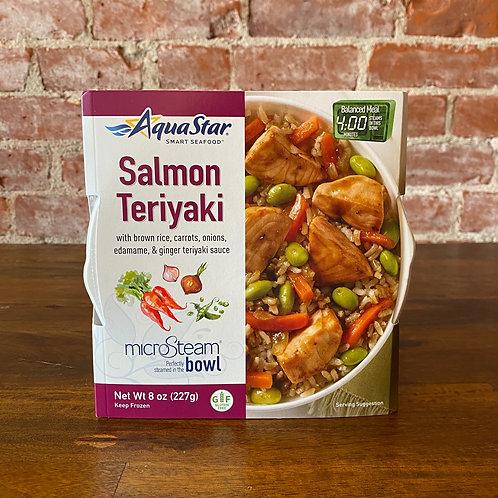 Salmon Teriyaki Bowl