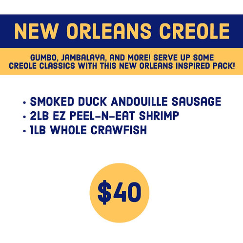 New Orleans Creole Pack