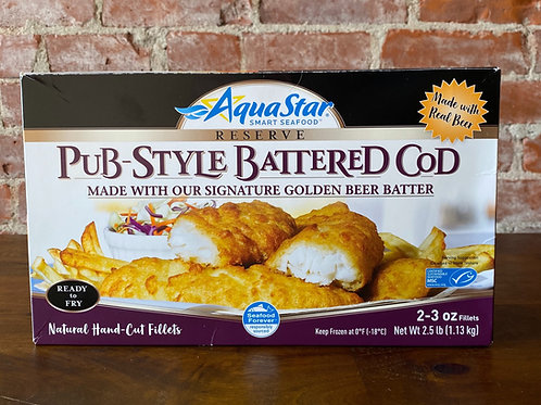 Pub-Style Battered Cod