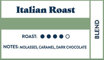 Italian Roast | Bulk • 5lb