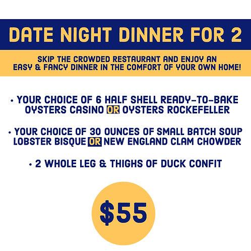 Date Night Dinner for 2
