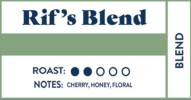 Rif's Blend | Bulk • 7lb