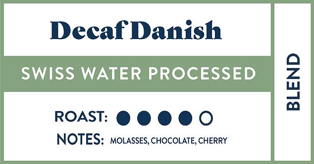 Decaf Danish