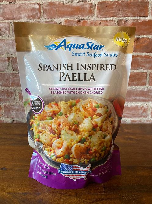 Spanish Inspired Seafood Paella