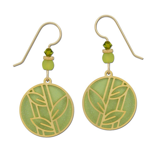 Round Leaf Green Design