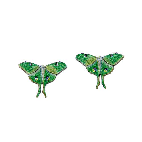 Small Green Butterfly Posts