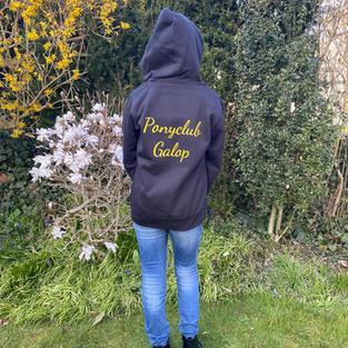 Ponyclub hoodie vest achterkant