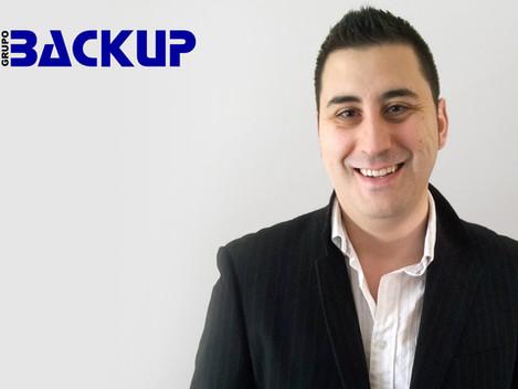 José Berrón se reincorpora a Grupo Backup como Jefe de Proyecto