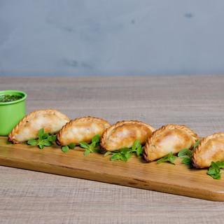 Mini empanadas veganas