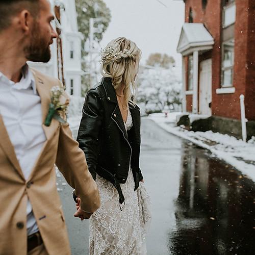 Jamie & Dave  // Modern Glam Wedding
